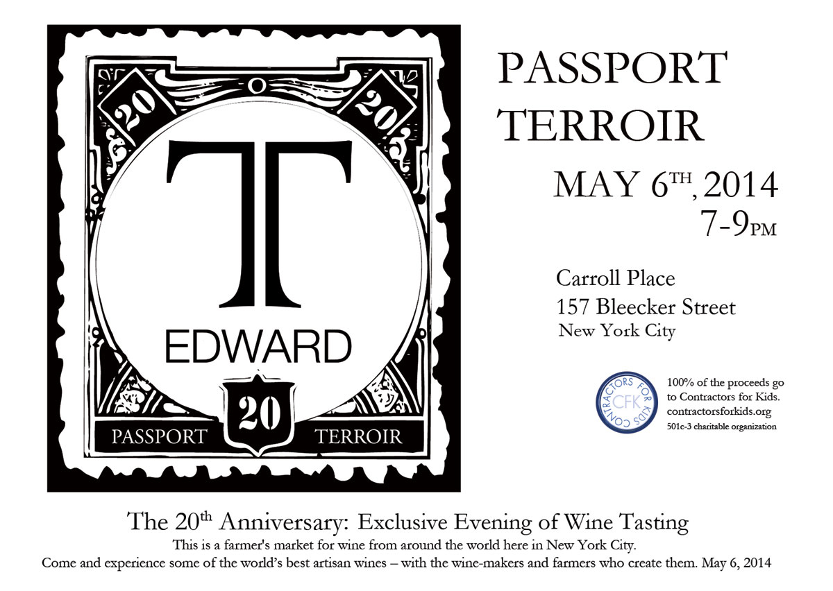 Passport Terroir. Winemakers' Salon, May 6th
