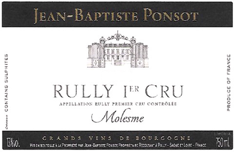 Rully blanc jean baptiste ponsot
