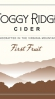 Foggy Ridge First Fruit Cider 2013
